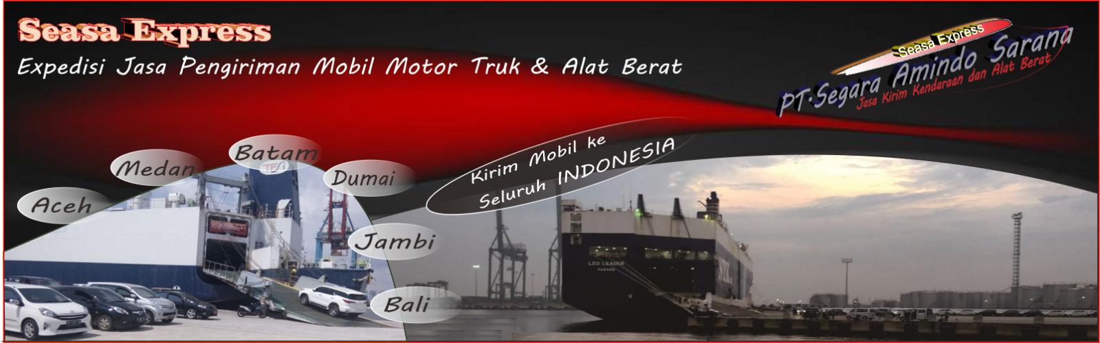 Kirim Mobil via Kapal Laut RoRo aman terpercaya